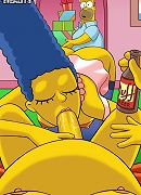 Simpsons try hardcore