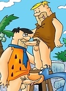 The Flintstones gone gay